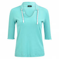 T-Shirt - Loose Fit - V-Neck