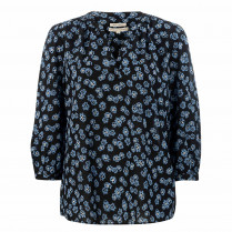 Bluse - Loose Fit - Allover Print