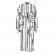 Blusenkleid - Comfort Fit - Stripes