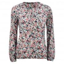 Blusenshirt - Straight Fit - Flowerprint