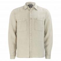 Overshirt - Regular Fit - Leinen