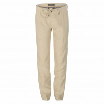 Chino - Tapered Fit - Leinen-Mix