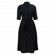 Kleid - Regular Fit - Kragen