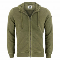 Sweatjacke - regular fit - Kaputze