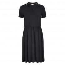 Kleid - Loose Fit - Polokragen