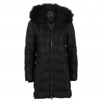 Ledermantel - Regular Fit - Fake Fur 104440