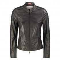 Lederjacke - fitted - Zipper 100000