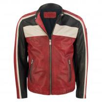 Lederjacke - Jack - Biker-Style 100000