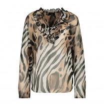 Bluse - Comfort Fit - Animalprint