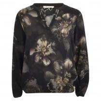 Bluse - Comfort Fit - Blumendruck