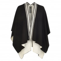 Poncho - Loose Fit - Strass