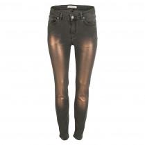 Jeans - Slim Fit - Shiny-Patch 100000