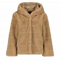 jacke - oversized - Fake Fur