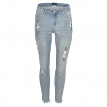 Jeans - Regular Fit - Nietendekor