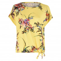 Shirt - Loose Fit - Flower-Prints