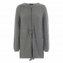 Strickjacke - Casual Fit - Wollmix