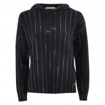 Sweatshirt - Loose Fit - Strass