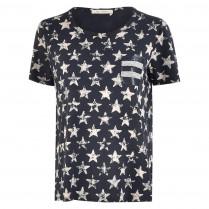 T-Shirt - Loose Fit - Boatneck 100000