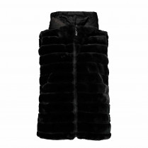 Weste - Regular Fit - Fake Fur
