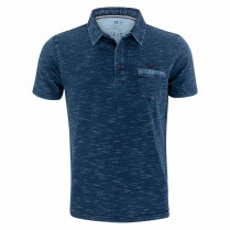 Poloshirt - Regular Fit - Wash-Out