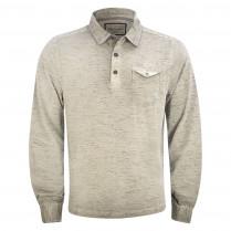 Poloshirt - Loose Fit - Melange