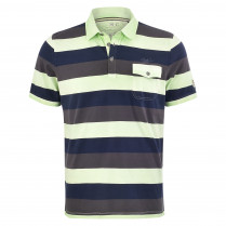 Poloshirt - Casual Fit - Colorblocking