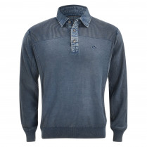 Pullover - Regular Fit - Polokragen