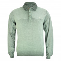 Pullover - Regular Fit - Polokragen