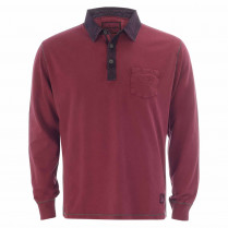 Sweatshirt - Regular Fit - Polokragen