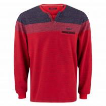Sweatshirt - Casual Fit - Colorblocking