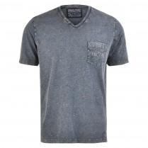T-Shirt - Regular Fit - V-Neck 100000