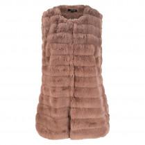 Weste - Regular Fit - Fake-Fur 109373