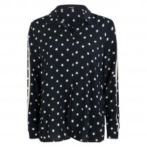 Bluse - Regular Fit - Dots 100000