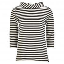 Sweatshirt - Loose Fit - Stripes
