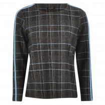 Sweatshirt - Loose Fit - Glencheck