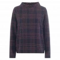Sweatshirt - Loose Fit - Check