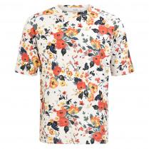 T-Shirt - Modern Fit - Flowerprint