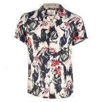 Hemd - Regular Fit - Flower-Print