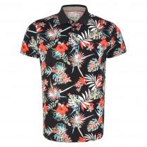 Poloshirt - Regular Fit - Flower-Print
