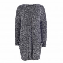 Cardigan - Loose Fit - Wollmix