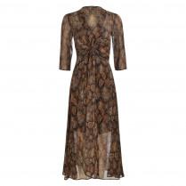 Kleid - Regular Fit - Snakeprint