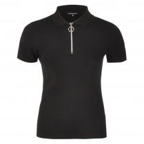Poloshirt - Slim Fit - Zipper