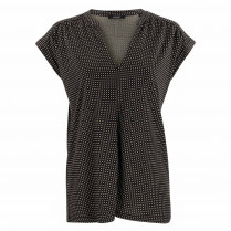 Bluse - Loose Fit - Sandi checked