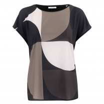 Bluse - Loose Fit - Salfi print