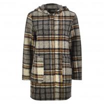 Mantel - Loose Fit - Handa wool check