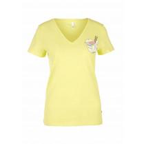 T-Shirt - Regular Fit - V-Neck