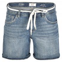 Denimshorts - Comfort Fit - Gürtel