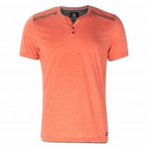 T-Shirt - Regular Fit - Henleykragen