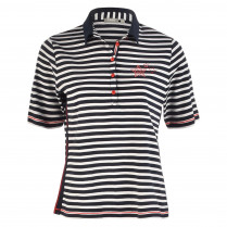 Poloshirt - Loose Fit - Stripes