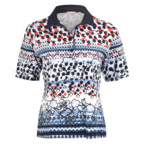 Poloshirt - Loose Fit - Print